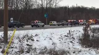 Lawrence Township school buses involved in crash - Video