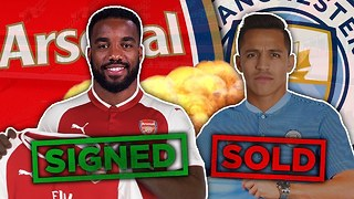 Arsenal Agree RECORD £52m Deal For Lacazette To Replace Sanchez?! | W&L - Video