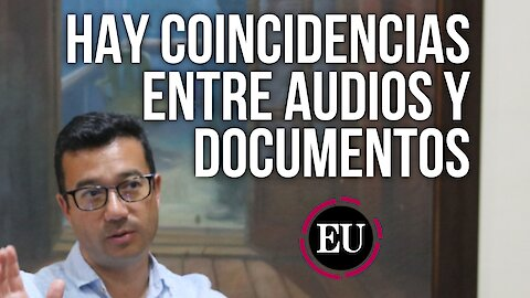 El vicecontralor habla de las coincidencias entre audios y documentos