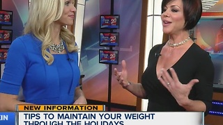 Tips for maintaining your weight during the holidays - Video