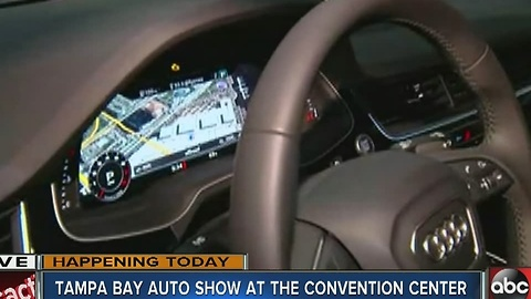 Tampa Bay International Auto Show at TCC