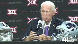 K-State, Bill Snyder take their turn at Big 12 Media Days - Video