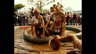 World Gravy Wrestling Championships - Video