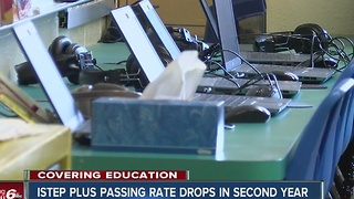 ISTEP Plus passing rate drops in second year - Video