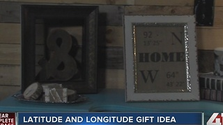 Diva of DIY: latitude and longitude gift idea - Video