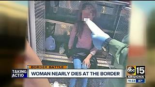 Woman smuggled into US survives being trapped for 40 hours - Video