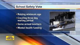 Florida lawmakers debate school-safety bill in rare session - Video