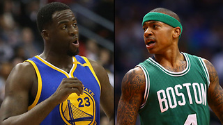 "Draymond Green KICKS BACK at Isaiah Thomas Over Kelly Olynyk ""Dirty Player"" Comments - Video"