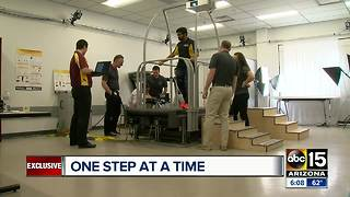 ASU students' invention designed to help stroke patients - Video