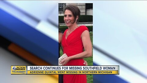 Search continues for missing Southfield woman in northern Michigan