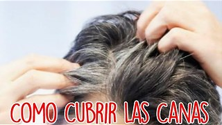 Como Cubrir Las Canas - Video