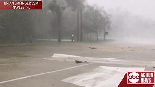 Watch: Hurricane Irma leaves serious impact on Naples