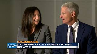 Marquette University president and wife helping heal Milwaukee