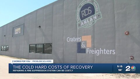 Repairing a fire suppression system can be costly