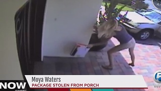 Packages stolen from your door step - Video