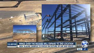 Colorado's Aerospace Alley being developed in Centennial with Wings Over the Rockies expansion - Video