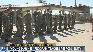 Kids Doing Good Things: 'Young Marines' Program - Video