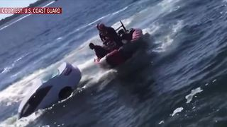 Coast Guard rescues Florida man from sinking car