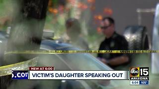 Daughter of man shot and killed by his mother speaks out - Video