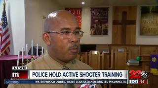 Police host active shooter training