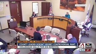 Leavenworth commissioner's remarks called racist