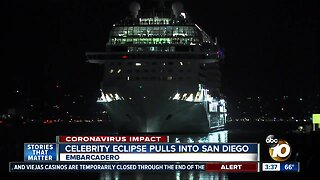 Celebrity Eclipse arrives in San Diego