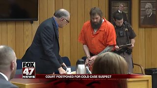 UPDATE: Hearing for suspect in cold case murder postponed