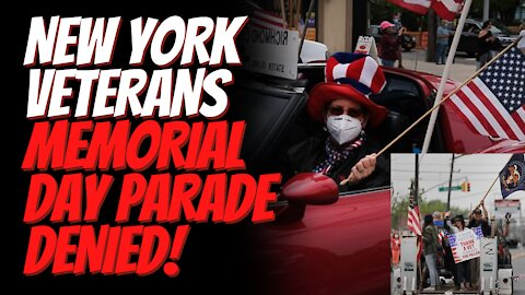 New York Veterans Memorial Day Parade Permit Denied While Other Groups Like BLM & Cannabis March Ok!