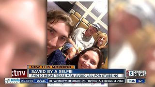Saved by a selfie