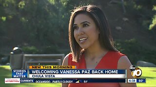 Chula Vista native Vanessa Paz returns home