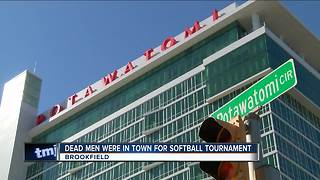 2 men found dead at Potawatomi in town for tournament - Video