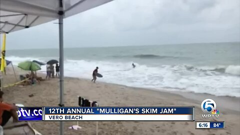 "12th Annual ""Mulligan's Skim Jam"" held in Vero Beach"
