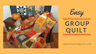 Easy Group Quilt