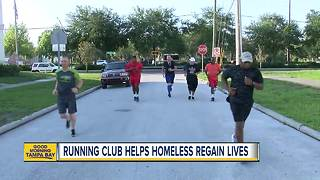 Running club helping homeless men regain lives - Video