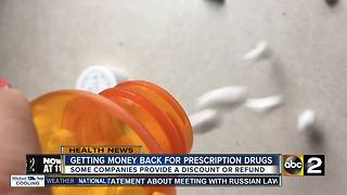 Some companies offering money back for prescription drugs - Video