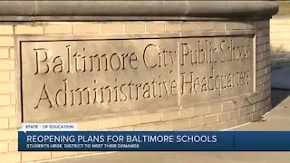 Students want City Schools to meet their demands before returning to in-person learning