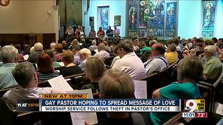 Gay pastor hopes to spread message of love