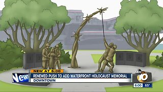 Renewed push to add San Diego waterfront Holocaust memorial