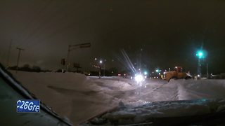 Blizzard helps Green Bay Police catch drunk drivers - Video