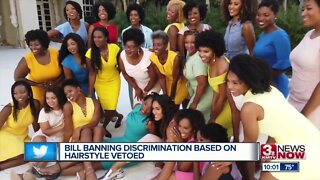 Bill Banning Discrimination Based on Hairstyle Vetoed