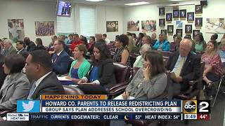 Howard County parents reveal redistricting plan - Video