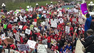 Kentucky Teachers Descend on Capitol to Protest Pension Reform