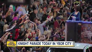 Knight Parade set to illuminated Ybor City tonight - Video