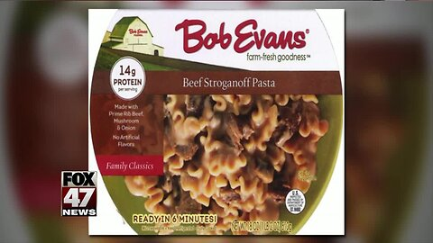Beef stroganoff recalled due to lack of inspection