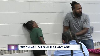 Man teaching L.D.R.S.H.I.P at every age