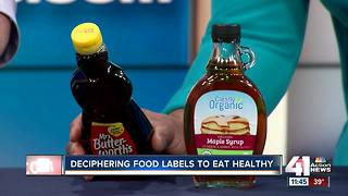 Deciphering food labels to eat healthy