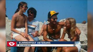 Woman finds her photo from classic Summerfest gallery - Video