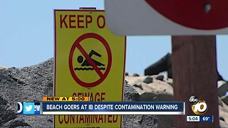 People still go to contaminated Imperial Beach
