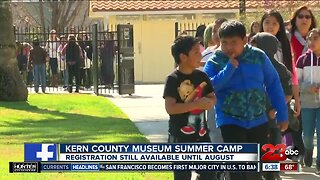 Archeology at Kern County Museum Summer Camp