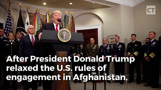 Afghans Ask for More American Air Power Against Taliban - Video